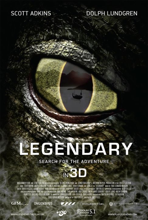 LEGENDARY: TOMB OF THE DRAGON - Plakat - Bildquelle: Licensed by Telepool GmbH