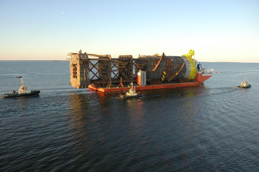 Die Perdido-Bohrinsel liegt tief unten im Meer des Golfs von Mexiko. Die sch... - Bildquelle: Shell Int Ltd
