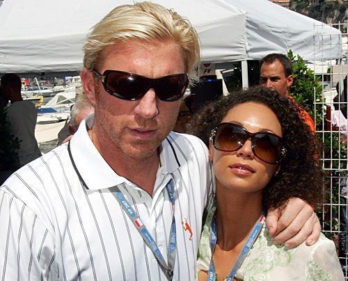 Boris Becker und Lilly Kerssenberg im Mai 2007 in Monte Carlo. - Bildquelle: dpa