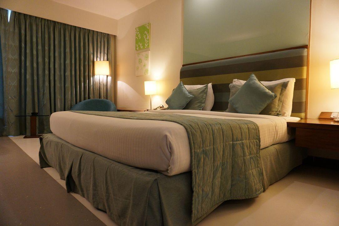 Ortswechsel tun gut Die meisten Paare schlafen jeden Abend im gemeinsamen Be...