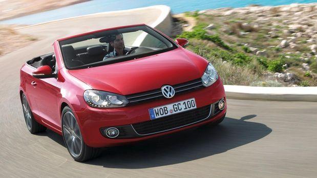 Golf Cabrio - Bildquelle: VW