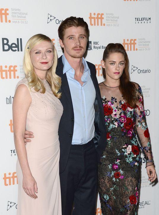 Kristen Stewart, Garrett Hedlund und Kirsten Dunst - Bildquelle: AFP