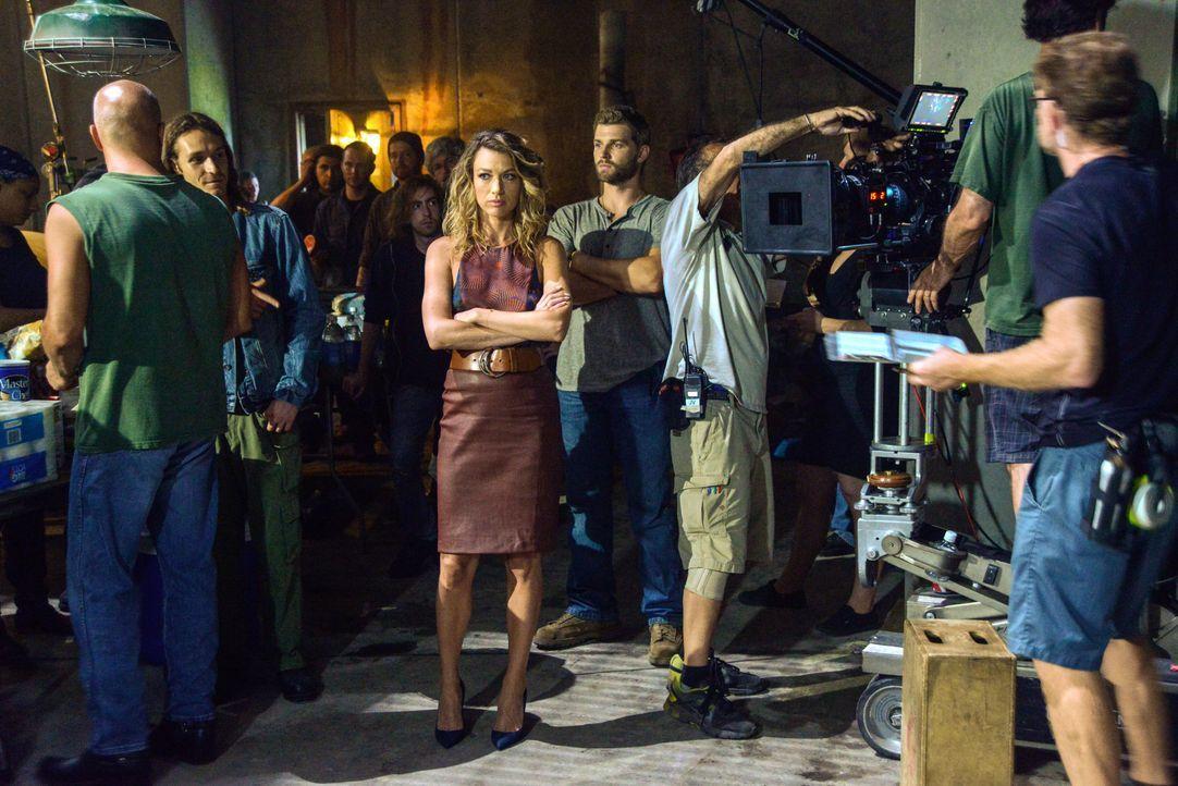 Under The Dome - Behind The Scenes - Bild vom Set der Serie16 - Bildquelle: CBS Television