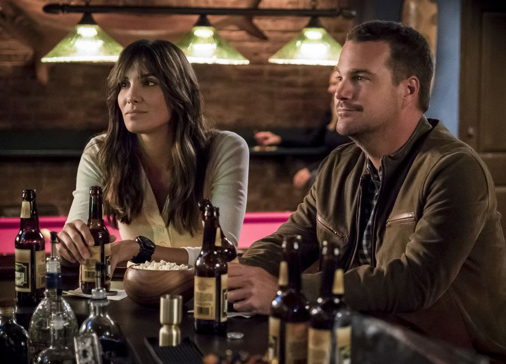 Kensi Blye (Daniela Ruah, l.); G. Callen (Chris O'Donnell, r.) - Bildquelle: Jessica Brooks 2018 CBS Broadcasting, Inc. All Rights Reserved/Jessica Brooks
