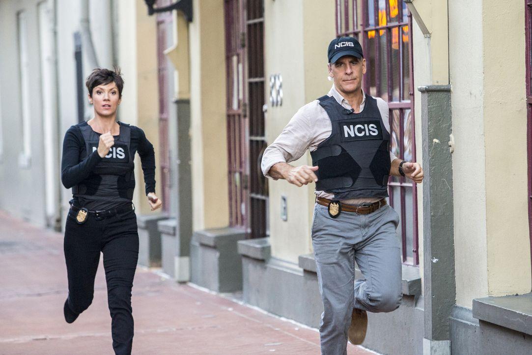 Bei den Ermittlungen in einem neuen Fall beginnt für Pride (Scott Bakula, r.) und Brody (Zoe McLellan, l.) ein Wettlauf mit der Zeit ... - Bildquelle: 2014 CBS Broadcasting Inc. All Rights Reserved.