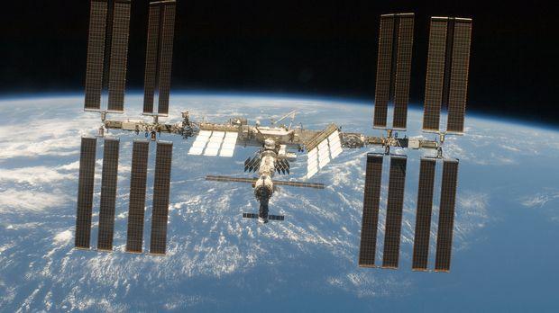 Die internationale Raumstation ISS ist ein gigantisches technisches Projekt -...