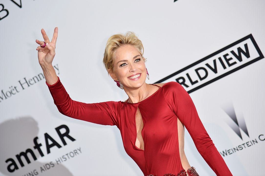 Cannes-Filmfestival-amfAR-Sharon-Stone-140522-1-AFP - Bildquelle: AFP