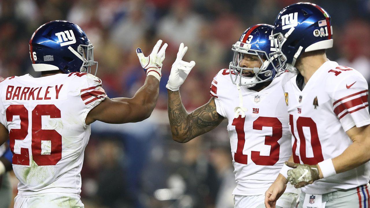 Platz 22: New York Giants - Bildquelle: 2018 Getty Images