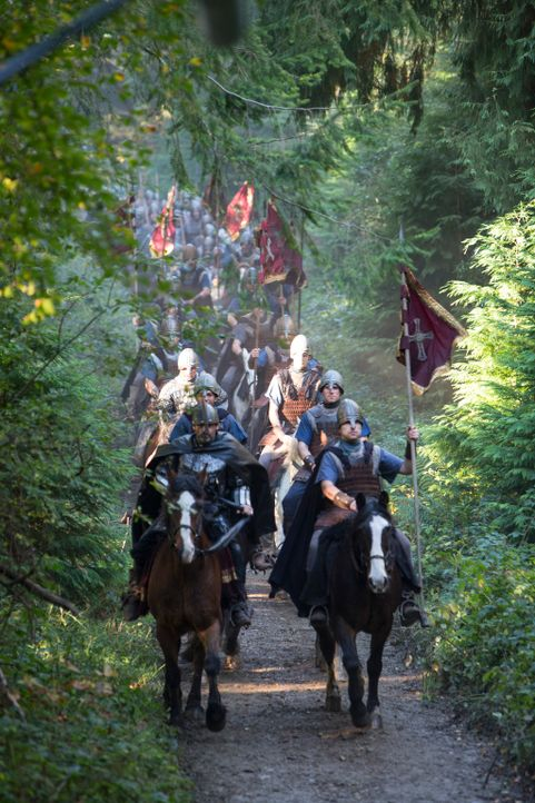 Auf in den Kampf! - Bildquelle: 2013 TM TELEVISION PRODUCTIONS LIMITED/T5 VIKINGS PRODUCTIONS INC. ALL RIGHTS RESERVED.