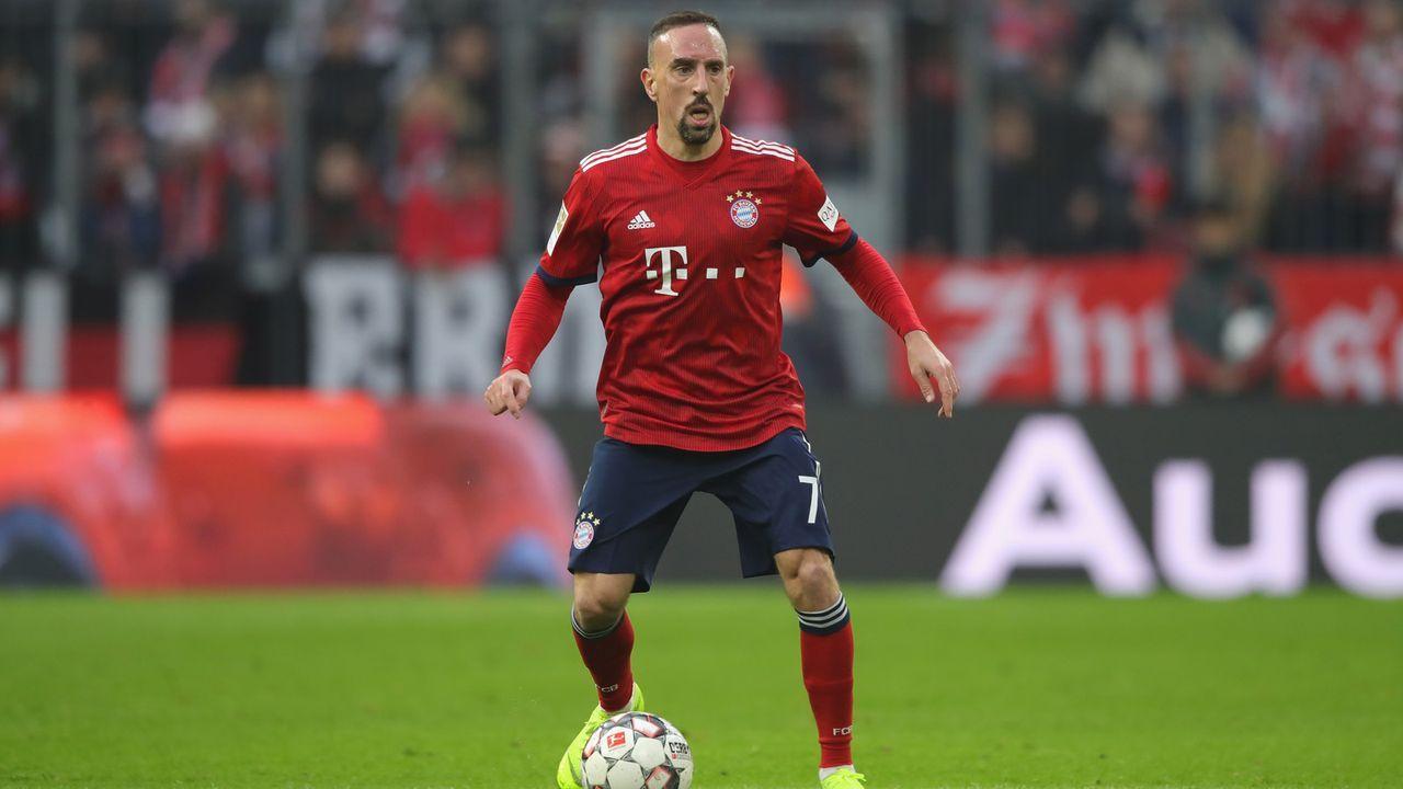 Platz 8 (geteilt): Frank Ribery - Bildquelle: Getty Images