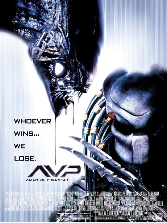 ALIEN VS. PREDATOR - Plakatmotiv - Bildquelle: 2004 Twentieth Century Fox Film Corporation. All rights reserved.