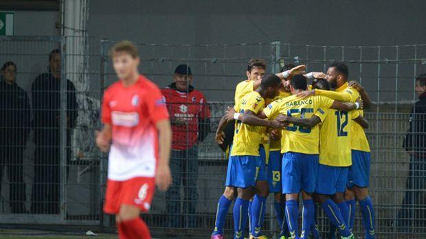 SC Freiburg vs. GD Estoril Praia © dpa