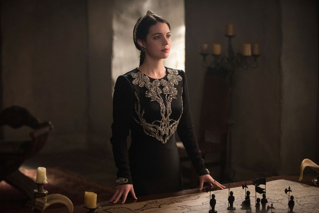 Mary (Adelaide Kane) muss langsam akzeptieren, dass Condé gegen sie und Francis vorgehen wird ... - Bildquelle: Christos Kalohoridis 2014 The CW Network, LLC. All rights reserved.
