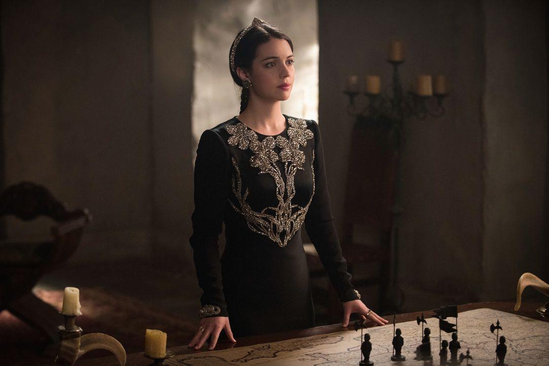Mary (Adelaide Kane) muss langsam akzeptieren, dass Condé gegen sie und Francis vorgehen wird ... - Bildquelle: Christos Kalohoridis 2014 The CW Network, LLC. All rights reserved.
