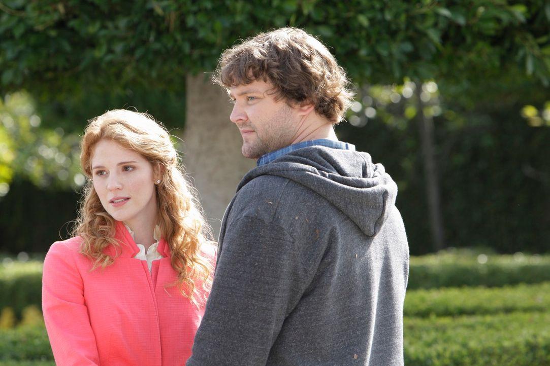 Kann Todd (Matt Lowe, r.) Sherry (Erin Chambers, l.) davon überzeugen, dass er sie nicht ihres Geldes wegen heiraten wollte? - Bildquelle: ABC Studios