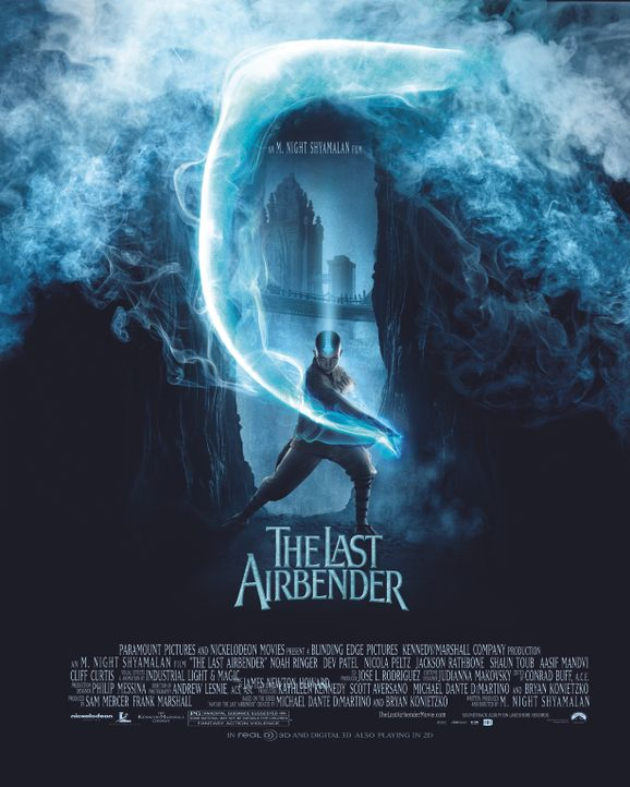 DIE LEGENDE VON AANG - Plakatmotiv - Bildquelle: 2010 PARAMOUNT PICTURES.  All Rights Reserved.