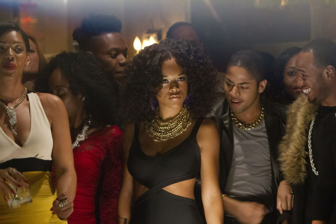 Während Hakeem bei seinem Auftritt mit Jamal brilliert, entdeckt Tiana (Serayah McNeill, M.) die Vorzüge eines Duettpartners ... - Bildquelle: 2015 Fox and its related entities.  All rights reserved.