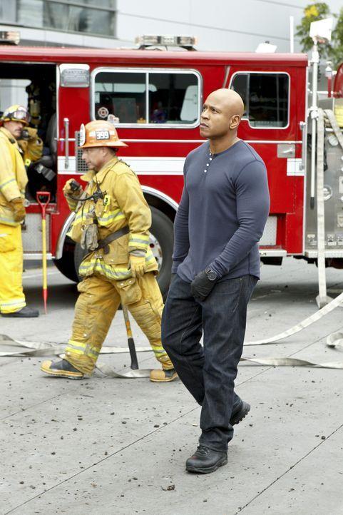 Undercover ermittelt Sam (LL Cool J) im sonnigen Kalifornien um die nationale Sicherheit zu wahren ... - Bildquelle: CBS Studios Inc. All Rights Reserved.