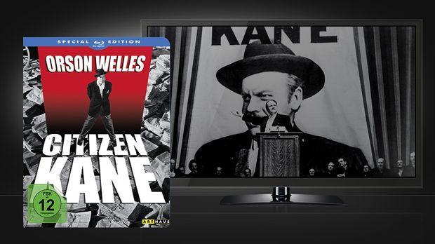 Citizen Kane Blu-Ray und Szenenbild