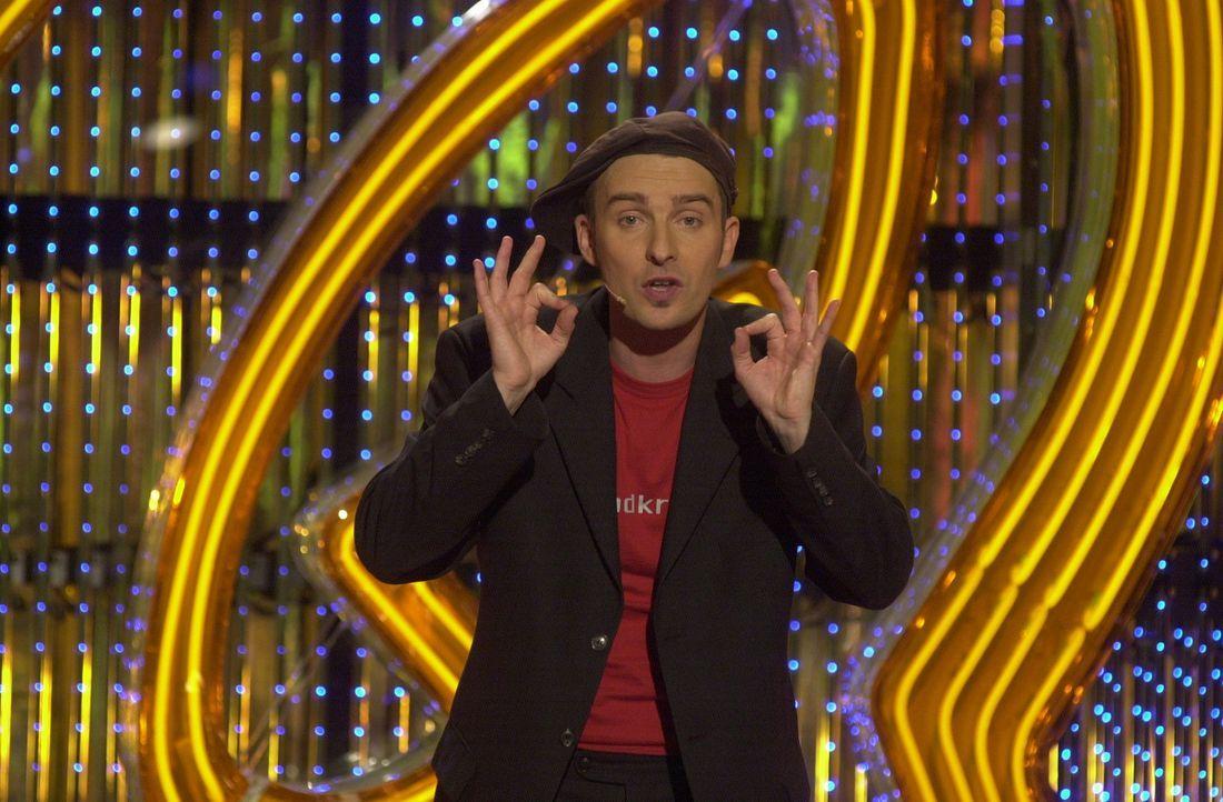 """David Leukert ist heute zu Gast im """"Quatsch Comedy Club"""". - Bildquelle: ProSieben"""