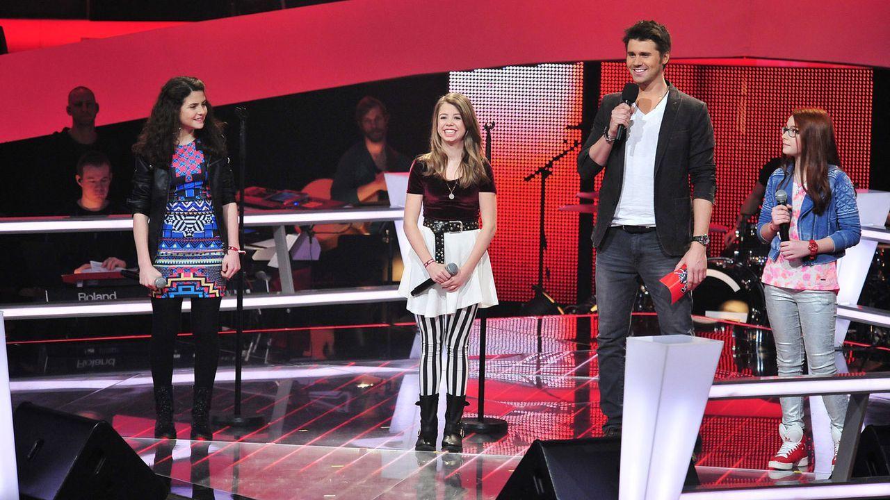 The-Voice-Kids-Stf02-Epi05-Chiara-Alex-Amina-5-SAT1-Andre-Kowalski - Bildquelle: SAT.1/Andre Kowalski