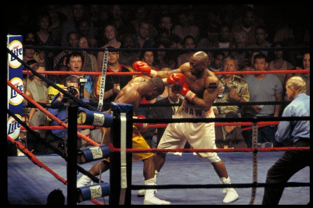 Schon bald erzielt Jackie Kallen mit Luther Shaw (Omar Epps, r.) bessere Resultate, als Boxpromoter La Rocca lieb sein kann ... - Bildquelle: Paramount Pictures