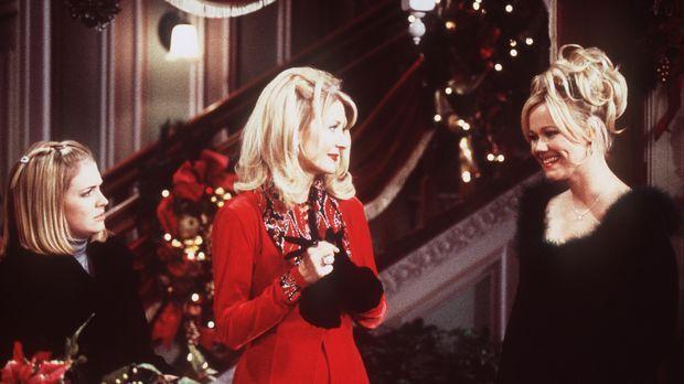 Zu dritt verbringen Sabrina (Melissa Joan Hart, l.), Zelda (Beth Broderick, M...