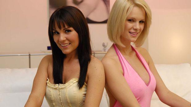 Daniela Vidas (l.) und Monica Ivancan (r.) sind schon gespannt, wie ihre zwei...