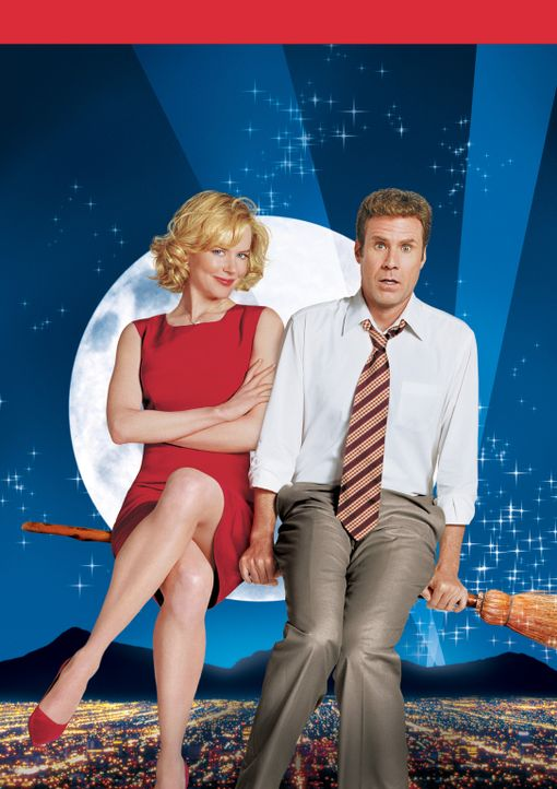 Verliebt in eine Hexe: Isabel Bigelow (Nicole Kidman, l.) und Jack Wyatt (Will Ferrell, r.) ... - Bildquelle: 2005 Columbia Pictures Industries, Inc. All Rights Reserved.