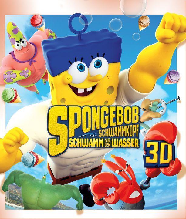 Spongebob Schwammkopf - Schwamm aus dem Wasser - Plakatmotiv - Bildquelle: (2016) Paramount Pictures and Viacom International Inc. All Rights Reserved. SPONGEBOB SQUAREPANTS is the trademark of Viacom International Inc.