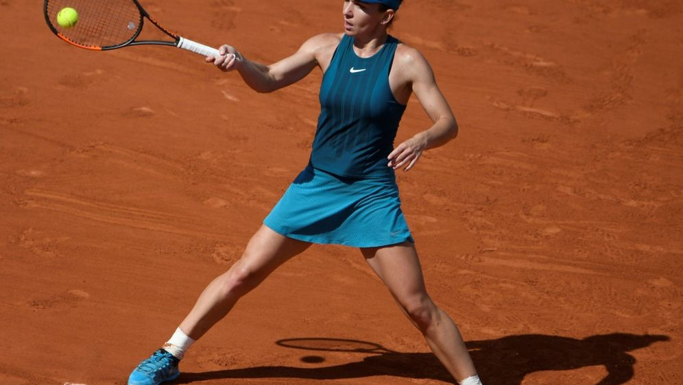 Simona Halep steht im French-Open-Finale - Bildquelle: AFPAFPEric FEFERBERG