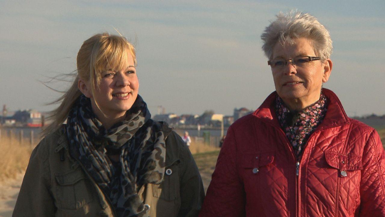 Ende der 70er Jahre führt das Schicksal die 17-jährige Austauschschülerin Claudia aus Argentinien und ihre Gastmutter Christel (r.) in Cuxhaven zusa... - Bildquelle: SAT.1