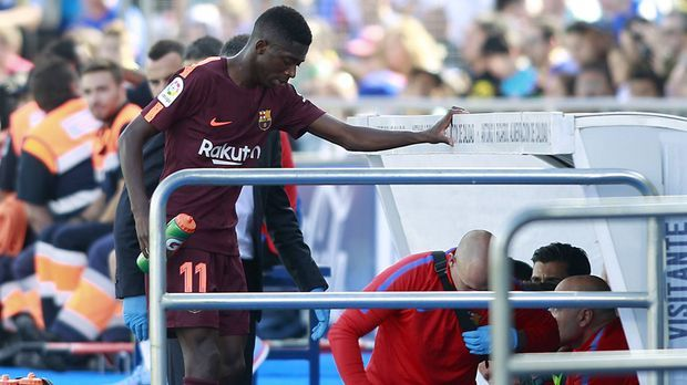 Ousmane Dembele verletzt