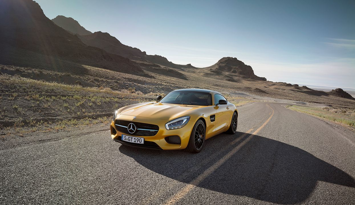 Mercedes AMG GT (11) - Bildquelle: press photo, do not use for advertising purposes