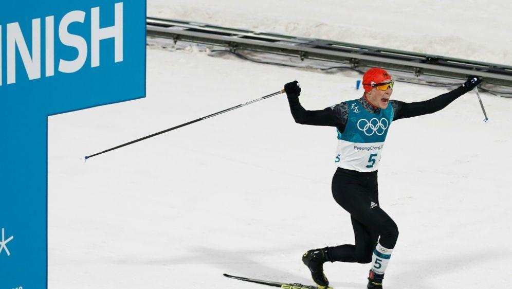 Eric Frenzel springt zur Goldmedaille im Einzel - Bildquelle: AFPSIDODD ANDERSEN
