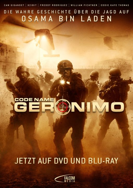 CODENAME: GERONIMO - Plakatmotiv - Bildquelle: 2012, Falcom Media