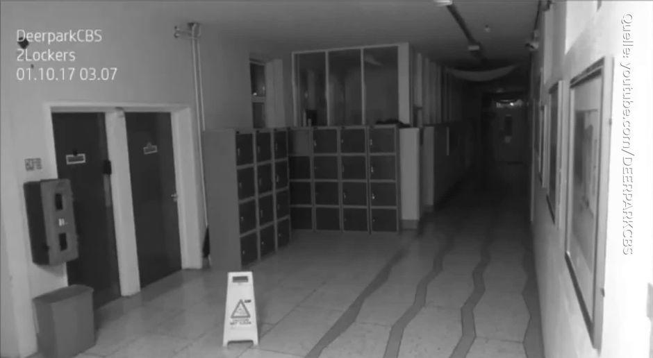 Ist Dieses überwachungskamera Video Der Beweis Dass Geister Existieren
