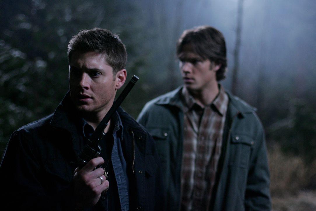Nachdem Dean (Jensen Ackles, l.) einen Deal mit einem weiblichen Dämon eingegangen ist, erwacht Sam (Jared Padalecki, r.) wieder von den Toten. Geme... - Bildquelle: Warner Bros. Television