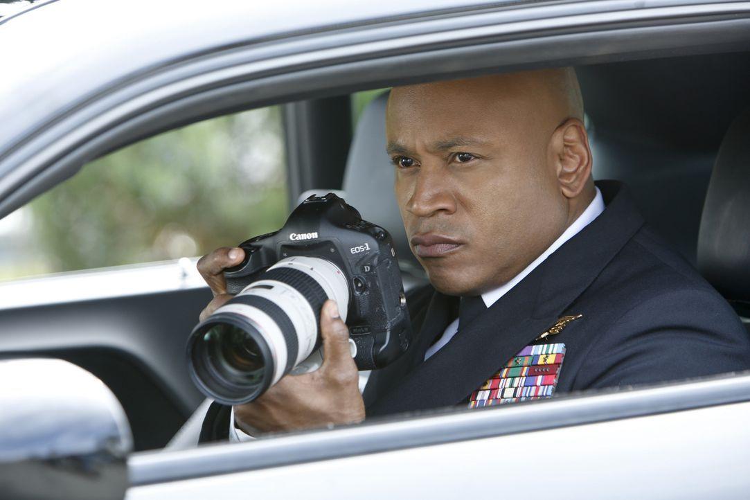 Bei den Ermittlungen in einem neuen Fall: Sam (LL Cool J) ... - Bildquelle: CBS Studios Inc. All Rights Reserved.