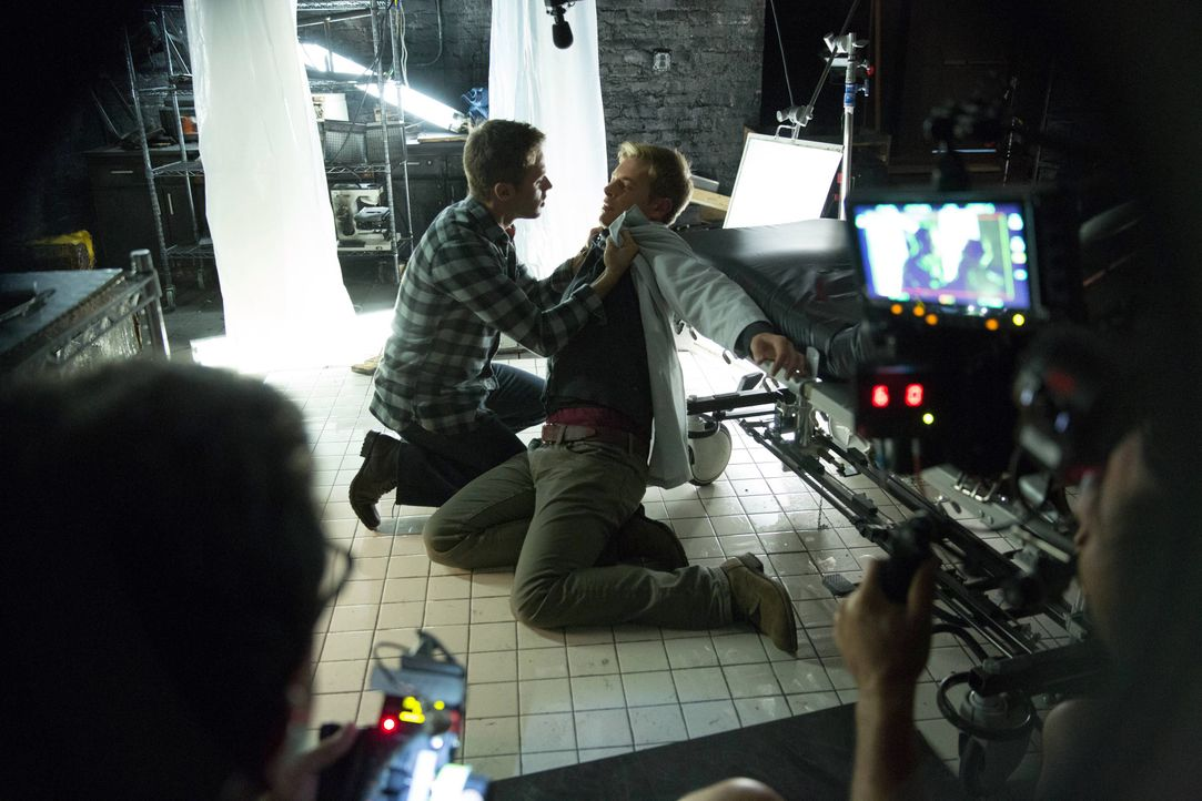Vampire Diaries, Staffel 5: Behind the Scenes mit Shaun Sipos - Bildquelle: Warner Bros. Entertainment Inc.