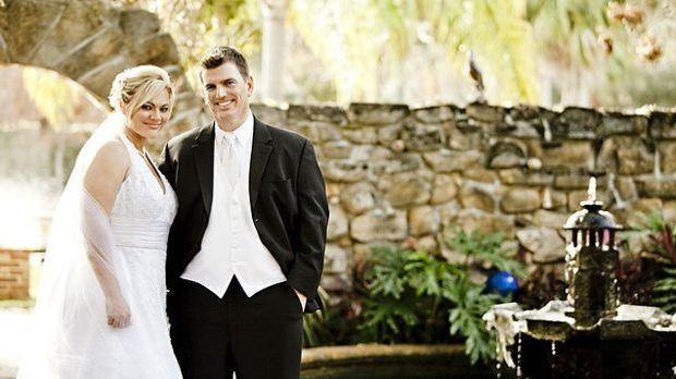 Braut-Hochzeit-Paar
