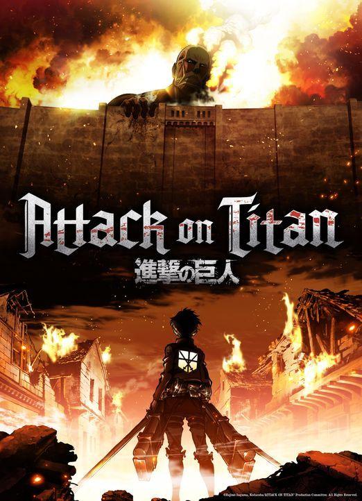 """Attack on Titan - Artwork - Bildquelle: Hajime Isayama,Kodansha/""""ATTACK ON TITAN""""Production Comittee All Rights Reserved."""
