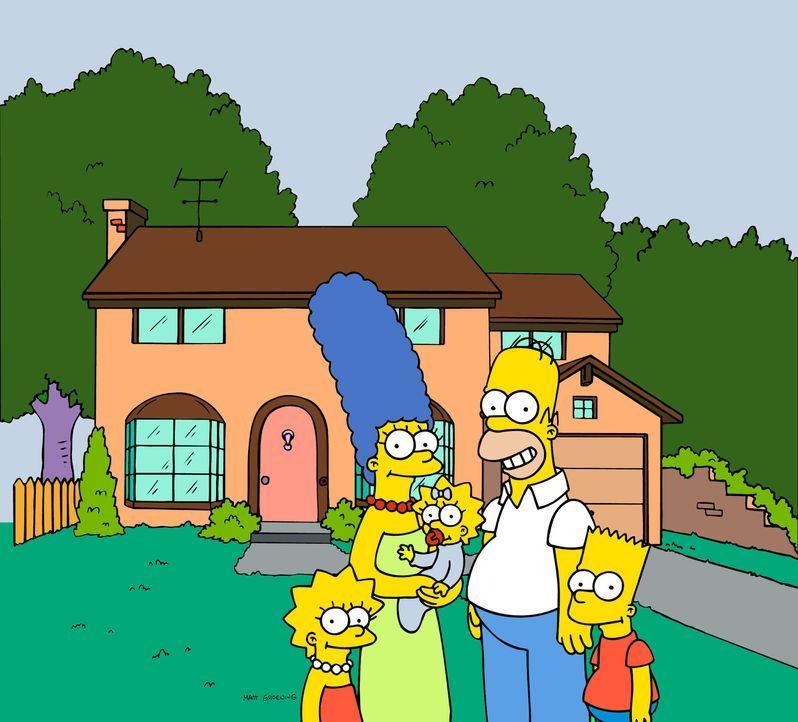 (18. Staffel) - Die Simpsons sind eine nicht alltägliche Familie: (v.l.n.r.) Lisa, Magre, Maggie, Homer und Bart ... - Bildquelle: und TM Twentieth Century Fox Film Corporation - Alle Rechte vorbehalten