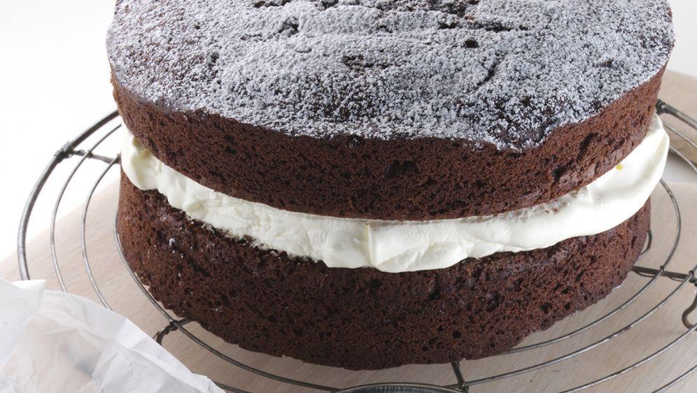 Schokoladenkuchen Mit Cremefullung Rezept