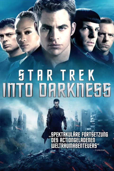 STAR TREK INTO DARKNESS - Plakatmotiv - Bildquelle: Zade Rosenthal 2013 Paramount Pictures.  All Rights Reserved.