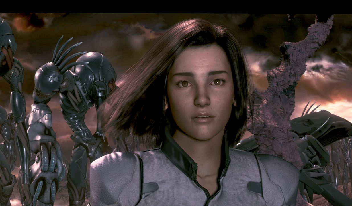 Weil sich die Wissenschaftlerin Dr. Aki Ross (Bild) bei einem Experiment mit dem Phantom infiziert hat, droht auch ihr ein schreckliches Ende. Da ko... - Bildquelle: 2003 Sony Pictures Television International. All Rights Reserved.