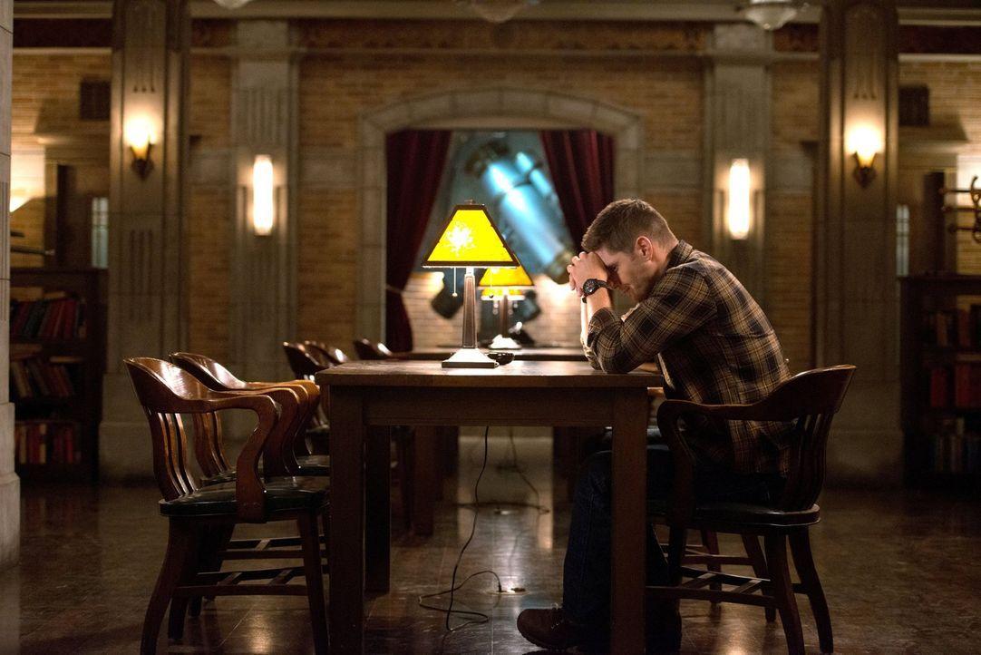 Dean (Jensen Ackles) muss sich eingestehen, dass er auf der Ranch ein wahres Massaker veranstaltet hat und ein erneuter Ausbruch dieser unbändigen M... - Bildquelle: 2016 Warner Brothers