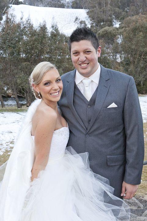 Melissa und Aaron sind seit sieben Jahren ein Pärchen. Wird Aaron alleine eine Traumhochzeit für seine Braut auf die Beine zu stellen oder scheitert... - Bildquelle: Renegade Pictures Ltd