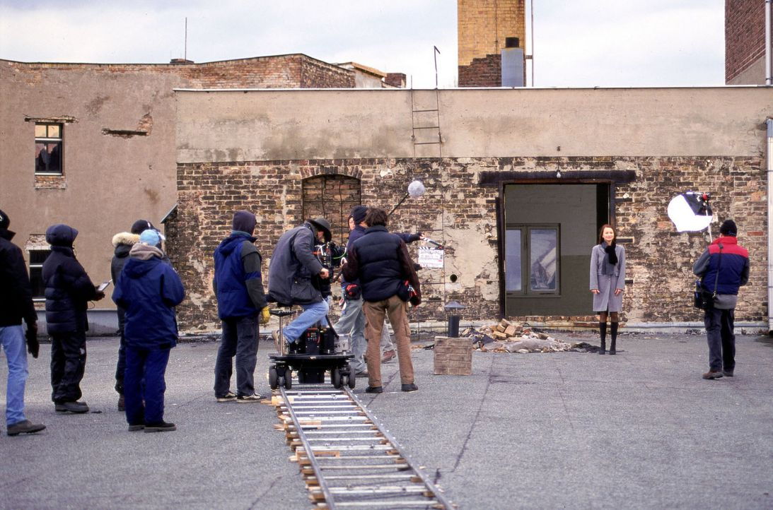 Dreharbeiten - Bildquelle: Jeanne Degraa Sat.1/Degraa