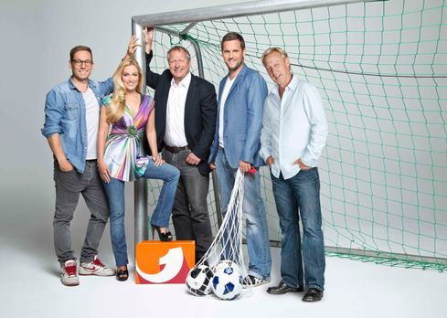 Europa League - UEFA EUROPA LEAGUE HIGHLIGHTS: (v.l.n.r.) Friedemann Karig, A...